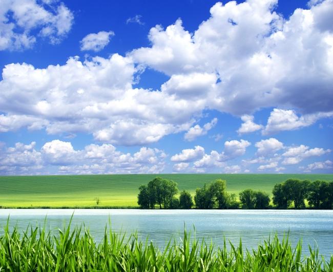 清新自然风景图片下载